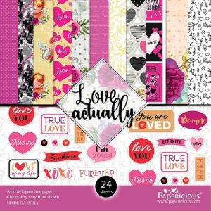 Love Actually - Papericious Designer Edition 6x6 Paper Pack