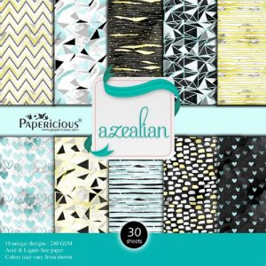 Azealian - Papericious Designer Edition 12 x 12 Paper Pack