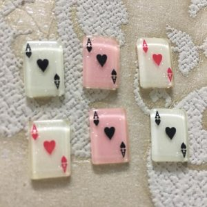 Playing Cards Resin Embellishment