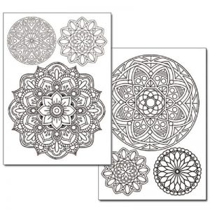 Stamperia Transfer Paper B/W - Lace and Doily