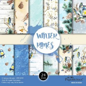 Winter Rhymes - Papericious Designer Edition 6x6 Paper Pack