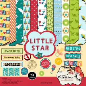Little Star - Papericious Designer Edition 6x6 Paper Pack
