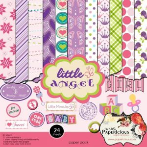 Little Angel - Papericious Designer Edition 6x6 Paper Pack