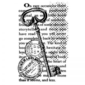 Stamperia HD Natural Rubber Stamp - Key