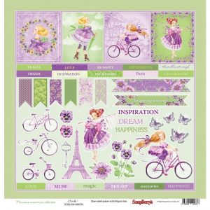 ScrapBerry's Precious Memories Single-Sided Cardstock 12X12