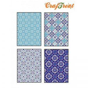 Craftreat Decoupage Paper - Moroccan