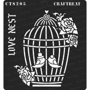 CrafTreat Stencil -   Love Nest