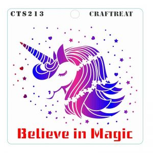 CrafTreat Stencil -  Believe in Magic
