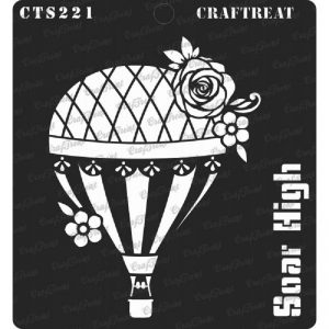 CrafTreat Stencil - Soar High