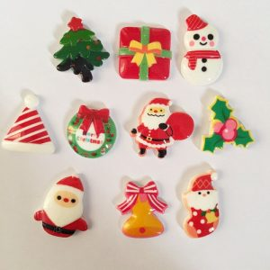 Christmas Theme Resin Embellishment