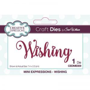 Creative Expressions Cutting Dies - Wishing