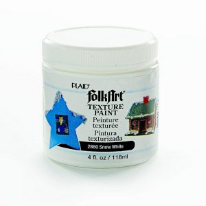 FolkArt Texture Paint White 4 Oz