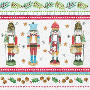 The Nutcracker Decoupage Napkin