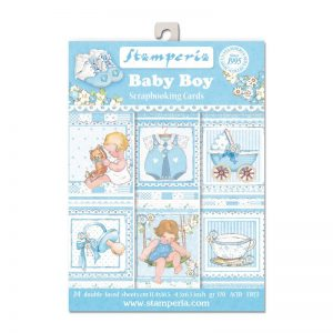 Stamperia Baby Boy Theme Paper Pack