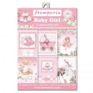 Stamperia Baby Girl Theme Paper Pack