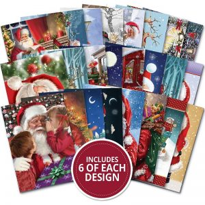 Hunkydory The Little Book Of A6 Paper Pad - Father Christmas
