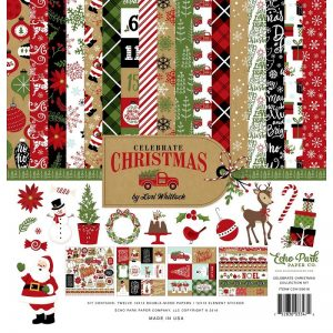 "Echo Park Collection Kit 12""X12"" - Celebrate Christmas"