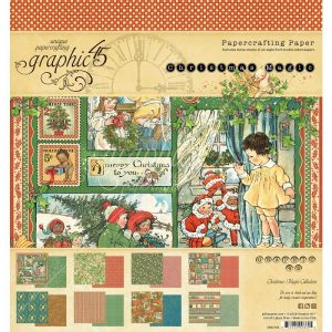 Graphic 45 Double-Sided Paper Pad Christmas Magic