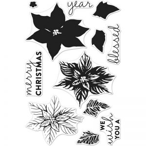 Hero Arts Clear Stamps - Colour Layering Poinsettia