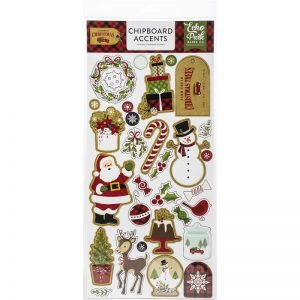 Echo Park Celebrate Christmas Chipboard