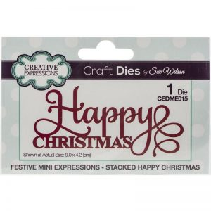 Creative Expressions Festive Craft Dies By Sue Wilson
