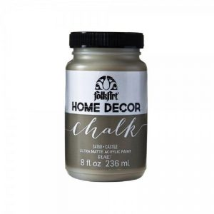 FolkArt Home Decor Chalk Paint - Castle