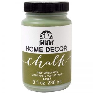 FolkArt Home Decor Chalk Paint - Spanish Moss