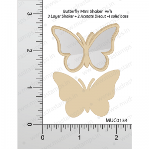 Butterfly Mini Shaker Mudra Chipzeb