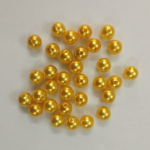 Yellow  Faux Pearl Beads