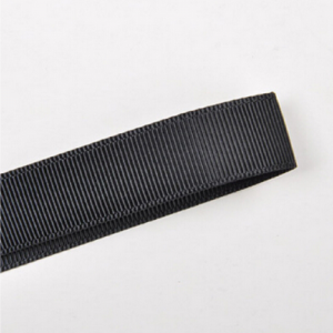 Black Plain Grosgrain Ribbon
