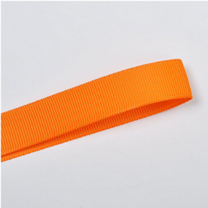 Orange Plain Grosgrain Ribbon
