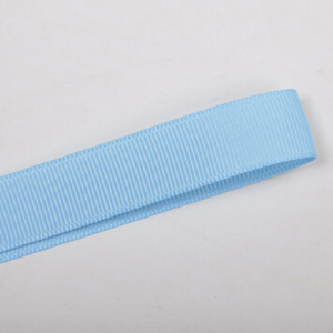 Baby Blue Plain Grosgrain Ribbon