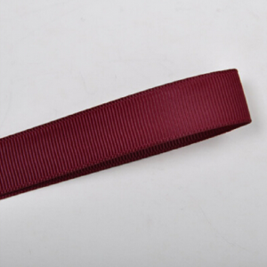 Maroon Plain Grosgrain Ribbon