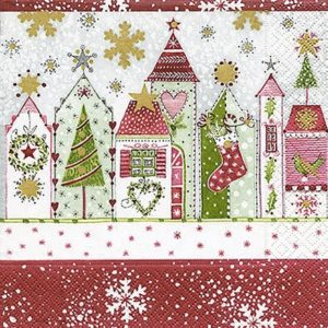 Christmas Decoration Decoupage Napkin