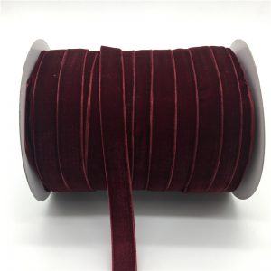 Grape Velvet Ribbon