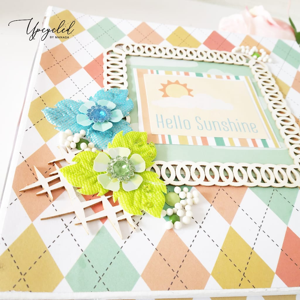 Embellishing Your Baby Albums by Manasa Priya Yedia