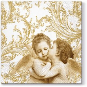 Two Sweet Angels Decoupage Napkin