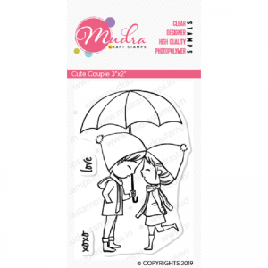 Mudra Clear Stamp - Cute Couple