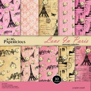 Papericious Designer Edition Love In Pairs 12 x 12 Paper Pack