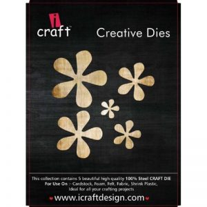 iCraft Flower Making Creative Five Dies Style 1