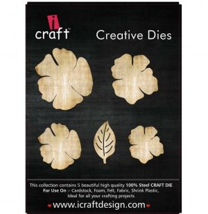 iCraft Flower Making Creative 5 Dies With Leaf