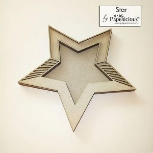 Star Papericious 3D Shaker Chippis