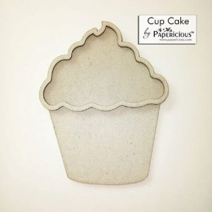 Cup cake Papericious 3D Shaker Chippis