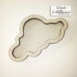 Cloud Papericious 3D Shaker Chippis