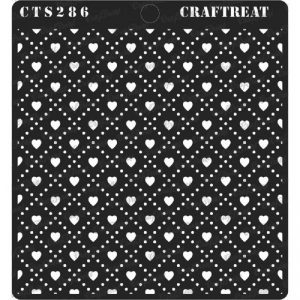 CrafTreat Stencil - Love Checks