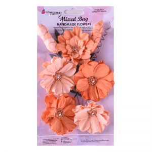 Handmade Cottage Wild Flower Mix - Orange Country