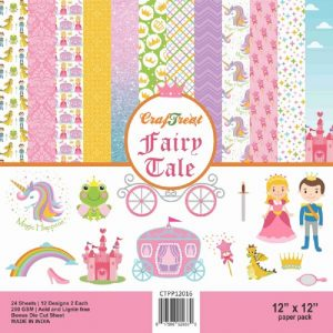 Fairy Tale  - Craftreat 12 x 12 Paper Pack