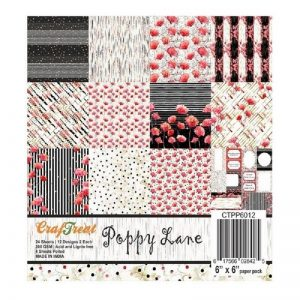 Poppy Lane - Craftreat 6 x 6 Paper Pack
