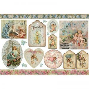 Stamperia Rice Paper - Vintage Angels