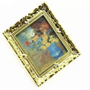 Miniature Vintage Rectangle Wall Painting